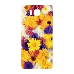 Colorful Flowers Pattern Samsung Galaxy Alpha Hardshell Back Case