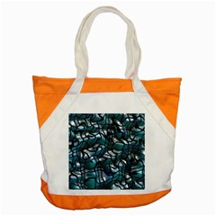 Old Spiderwebs On An Abstract Glass Accent Tote Bag