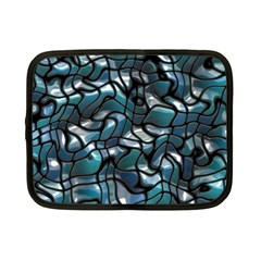 Old Spiderwebs On An Abstract Glass Netbook Case (small)