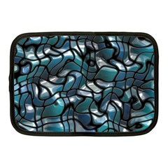 Old Spiderwebs On An Abstract Glass Netbook Case (medium)
