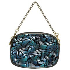 Old Spiderwebs On An Abstract Glass Chain Purses (one Side)