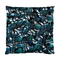 Old Spiderwebs On An Abstract Glass Standard Cushion Case (one Side)