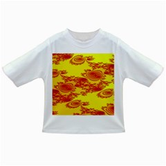 Floral Fractal Pattern Infant/toddler T Shirts