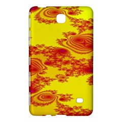 Floral Fractal Pattern Samsung Galaxy Tab 4 (8 ) Hardshell Case