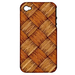 Vector Square Texture Pattern Apple Iphone 4/4s Hardshell Case (pc+silicone)