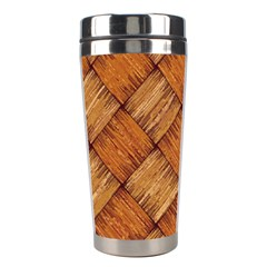 Vector Square Texture Pattern Stainless Steel Travel Tumblers