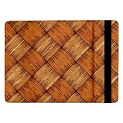 Vector Square Texture Pattern Samsung Galaxy Tab Pro 12 2  Flip Case