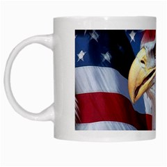 United States Of America Images Independence Day White Mugs