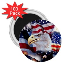 United States Of America Images Independence Day 2 25  Magnets (100 Pack)