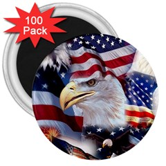 United States Of America Images Independence Day 3  Magnets (100 Pack)