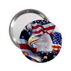 United States Of America Images Independence Day 2 25  Handbag Mirrors