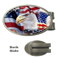 United States Of America Images Independence Day Money Clips (oval)