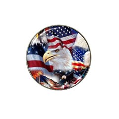 United States Of America Images Independence Day Hat Clip Ball Marker (10 Pack)
