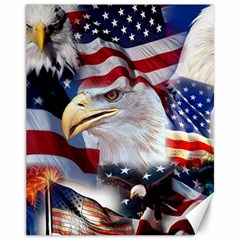 United States Of America Images Independence Day Canvas 11  X 14