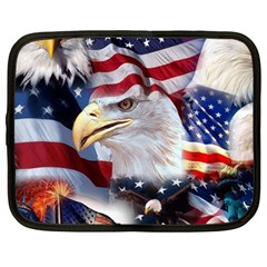 United States Of America Images Independence Day Netbook Case (large)