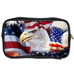 United States Of America Images Independence Day Toiletries Bags
