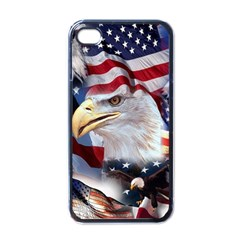 United States Of America Images Independence Day Apple Iphone 4 Case (black)