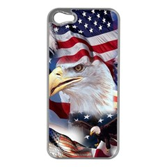 United States Of America Images Independence Day Apple Iphone 5 Case (silver)