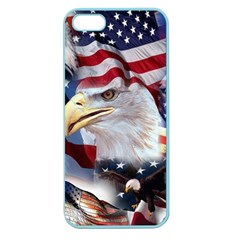 United States Of America Images Independence Day Apple Seamless Iphone 5 Case (color)