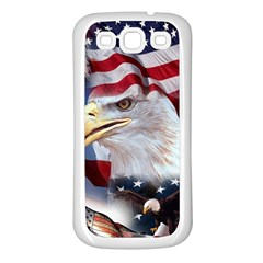 United States Of America Images Independence Day Samsung Galaxy S3 Back Case (white)