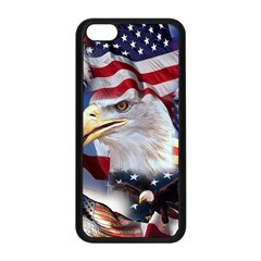 United States Of America Images Independence Day Apple Iphone 5c Seamless Case (black)