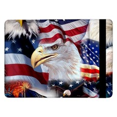 United States Of America Images Independence Day Samsung Galaxy Tab Pro 12 2  Flip Case