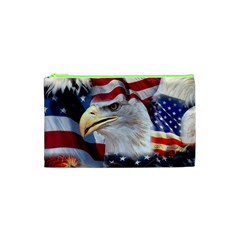 United States Of America Images Independence Day Cosmetic Bag (xs)