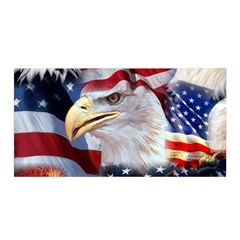 United States Of America Images Independence Day Satin Wrap
