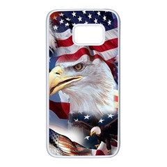 United States Of America Images Independence Day Samsung Galaxy S7 White Seamless Case