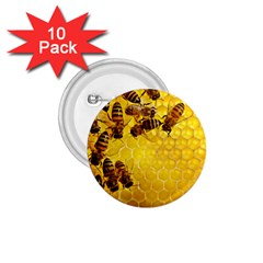 Honey Honeycomb 1 75  Buttons (10 Pack)