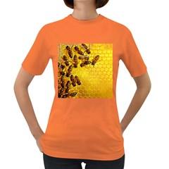 Honey Honeycomb Women s Dark T Shirt