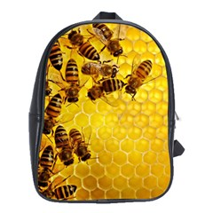 Honey Honeycomb School Bags(large)
