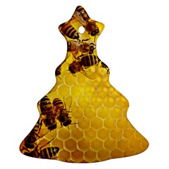 Honey Honeycomb Ornament (christmas Tree)
