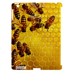 Honey Honeycomb Apple Ipad 3/4 Hardshell Case (compatible With Smart Cover)