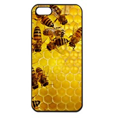 Honey Honeycomb Apple Iphone 5 Seamless Case (black)