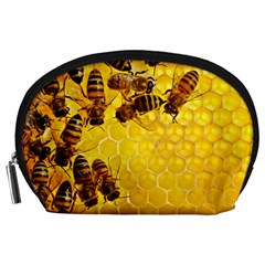 Honey Honeycomb Accessory Pouches (large)