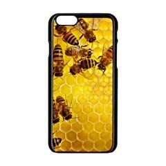Honey Honeycomb Apple Iphone 6/6s Black Enamel Case