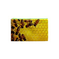 Honey Honeycomb Cosmetic Bag (xs)