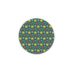The Gift Wrap Patterns Golf Ball Marker