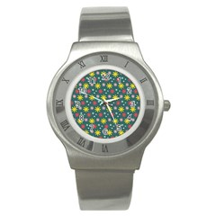 The Gift Wrap Patterns Stainless Steel Watch