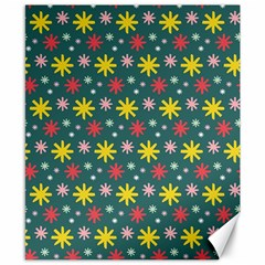 The Gift Wrap Patterns Canvas 8  X 10