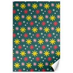 The Gift Wrap Patterns Canvas 24  X 36