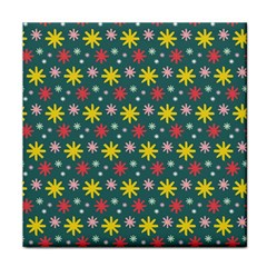 The Gift Wrap Patterns Face Towel