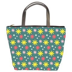 The Gift Wrap Patterns Bucket Bags