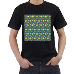The Gift Wrap Patterns Men s T Shirt (black)
