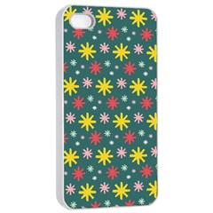 The Gift Wrap Patterns Apple Iphone 4/4s Seamless Case (white)