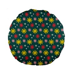 The Gift Wrap Patterns Standard 15  Premium Round Cushions