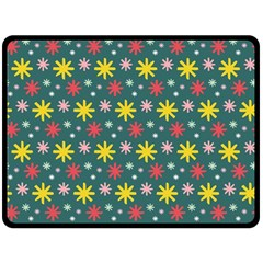The Gift Wrap Patterns Double Sided Fleece Blanket (large)