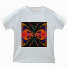 Casanova Abstract Art Colors Cool Druffix Flower Freaky Trippy Kids White T Shirts