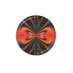 Casanova Abstract Art Colors Cool Druffix Flower Freaky Trippy Hat Clip Ball Marker (4 Pack)